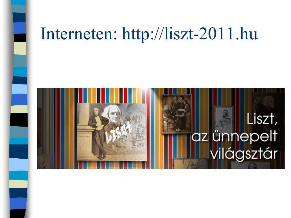 Liszt év és BTF A programsorozat a 200 éve, 1811-ben született, a zenetörténet egyik legnagyobb hatású muzsikusa, Liszt Ferenc előtt is állít emléket.