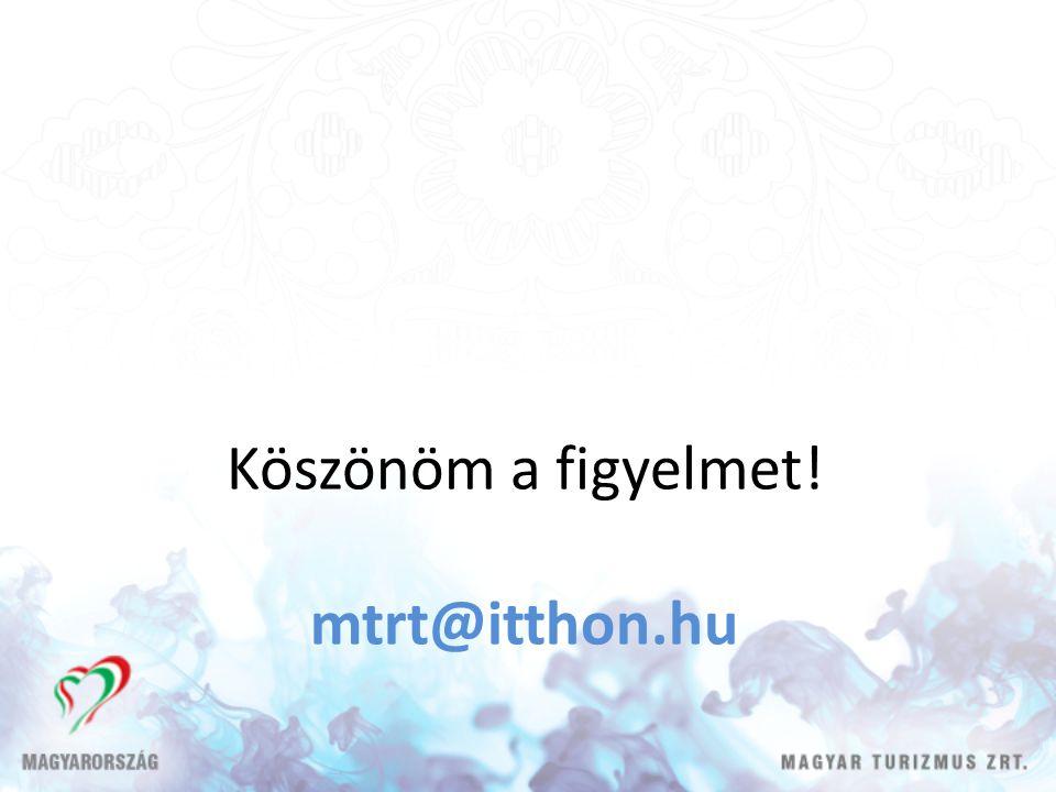 Köszönöm a figyelmet! mtrt@itthon.hu