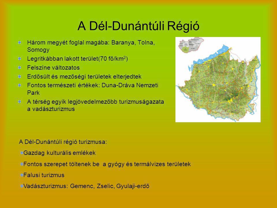 A Mecsek Dél-Dunántúlon található Legmagasabb pontja: Zengő (682m) 3 részre osztható: Nyugat- Mecsek, Közép- Mecsek, Nyugat- Mecsek Nagy a szerepe a Mezőgazdaságnak: Kukorica, búza, komló, árpa, szőlő Térségben gyógy és termálvizek: Sikonda, Harkány, Szigetvár Domborzat: Alkotóeleme főként mészkő, de az alkotóelemek között szerepel a gránit is Északtól déli irányba emelkedik Éghajlat: Szubmediterrán éghajlat= nyár meleg, tél enyhe Vízrajz: Nagyobb patakok: Völgység-patak, Bükkösd- patak Nincsenek természetes állóvizek Növényzet: Jelentős szerepet töltenek be az erdősült területek Növényzete gazdag(szubmediterrán éghajl) Állatvilág: Állatvilága változatos pl.: Réti sas, kígyászölyv, barnakánya Az erdők állatvilága: hasonlít az ország többi részén lévő erdőségekéhez(szarvas, róka, vaddisznó, őz)