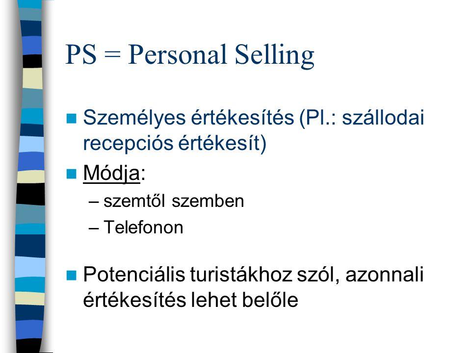 SP = Sales Promotion Eladásösztönzés Értékesítéssegítés Gyakorlatilag egy AKCIÓ (Pl.: Torkos Csütörtök) Kommunikációs mix eszköze (ár) Pl.: Bórkostolá