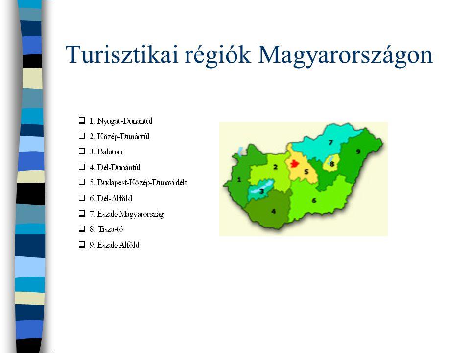 Turizmusmarketing szintjei 1. nemzetközi (Pl.: 30 európai ország) 2. regionális (Pl.: V4 országok) 3. nemzeti (Magyar Turizmus ZRt.) 4. vállalati (uta