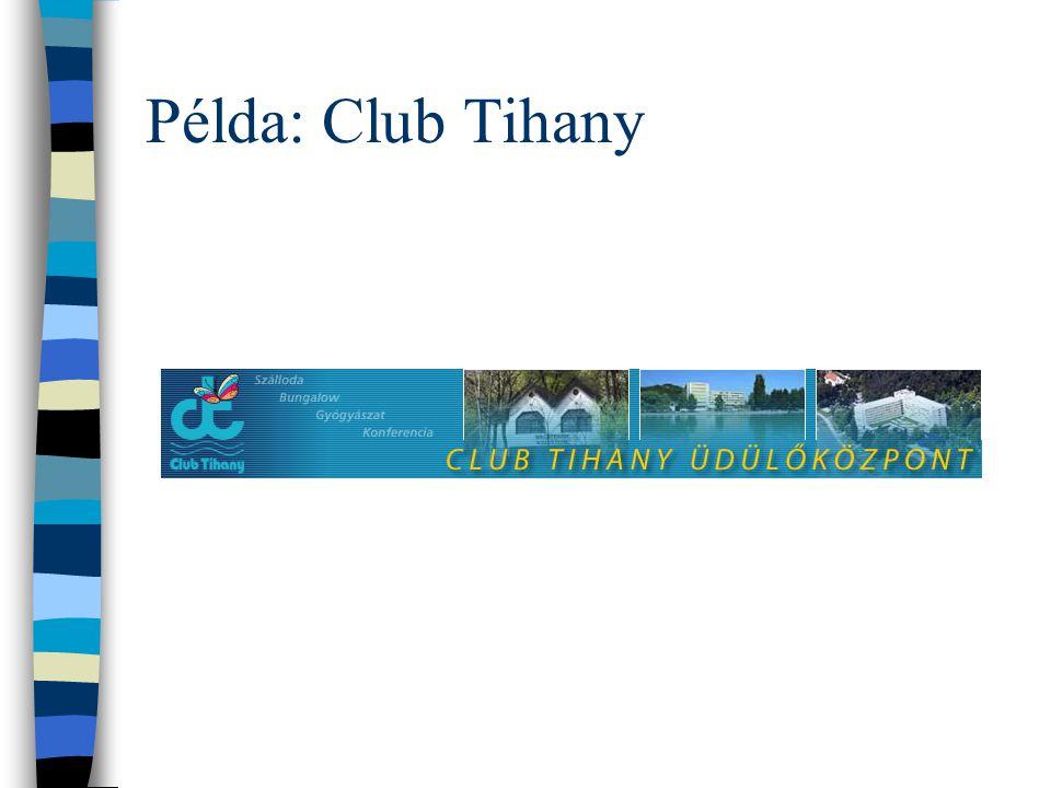 Példa: Club Tihany