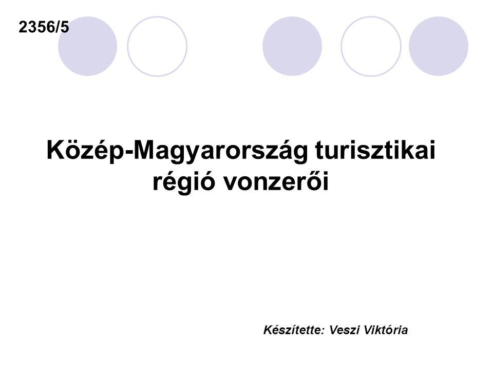 Közép-Magyarország turisztikai régió vonzerői 2356/5 Készítette: Veszi Viktória
