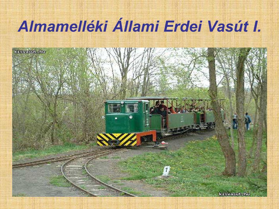 Almamelléki Állami Erdei Vasút I.