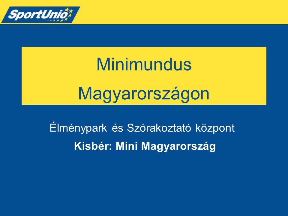Minimundus Kisbér: Mini Magyarország Élménypark és Szórakoztató központ Magyarországon