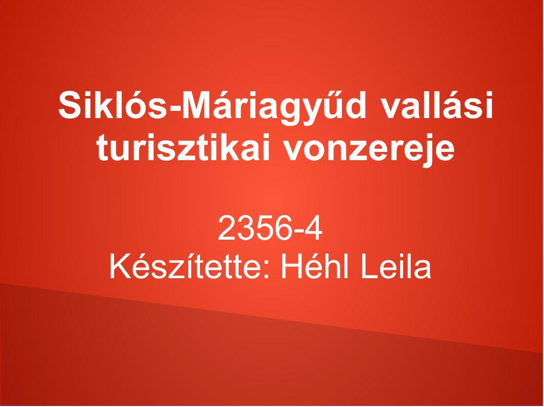 Máriagyűdi kegy és zarándokhely bemutatása Máriagyűd Siklóshoz tartozó település.