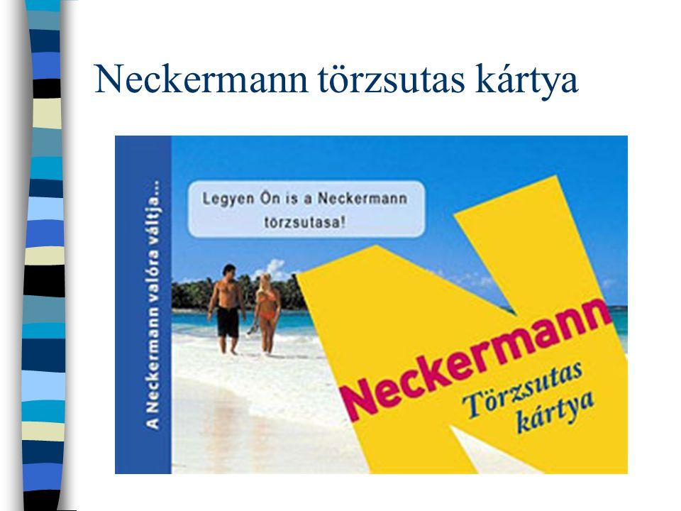 Neckermann törzsutas kártya