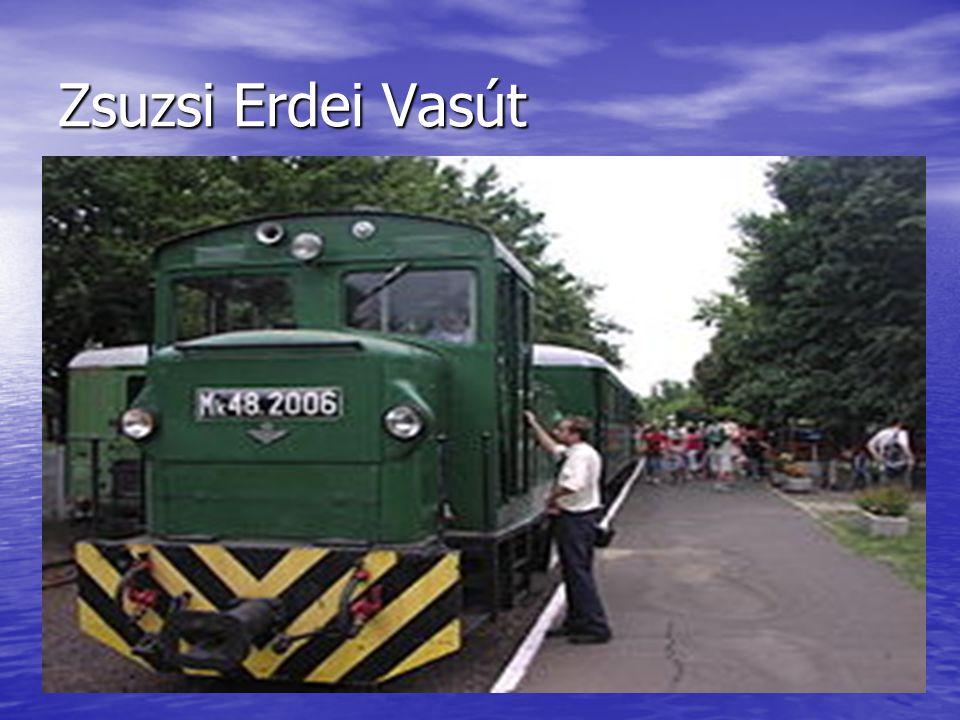 Magyarország legrégebbi keskeny nyomközű vasútja.