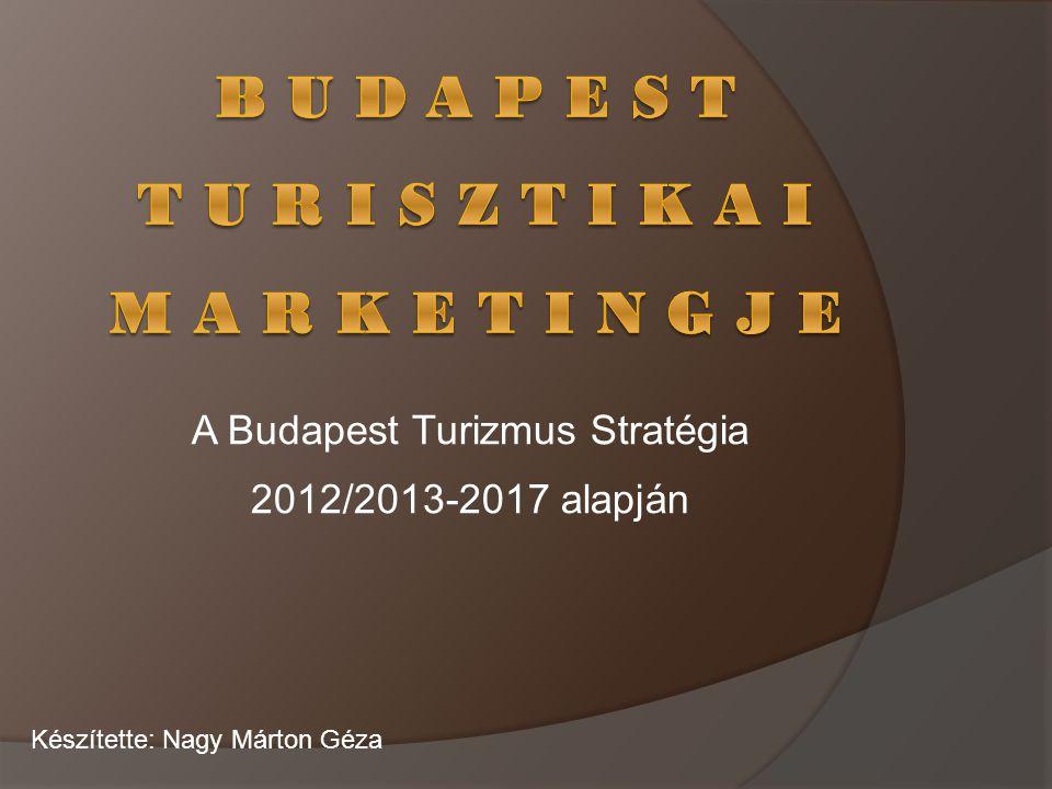A Budapest Turizmus Stratégia 2012/2013-2017 alapján Készítette: Nagy Márton Géza