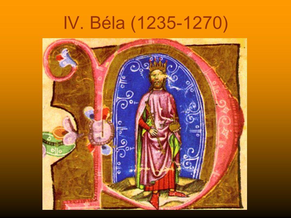 IV. Béla (1235-1270)