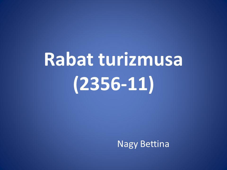 Rabat turizmusa (2356-11) Nagy Bettina