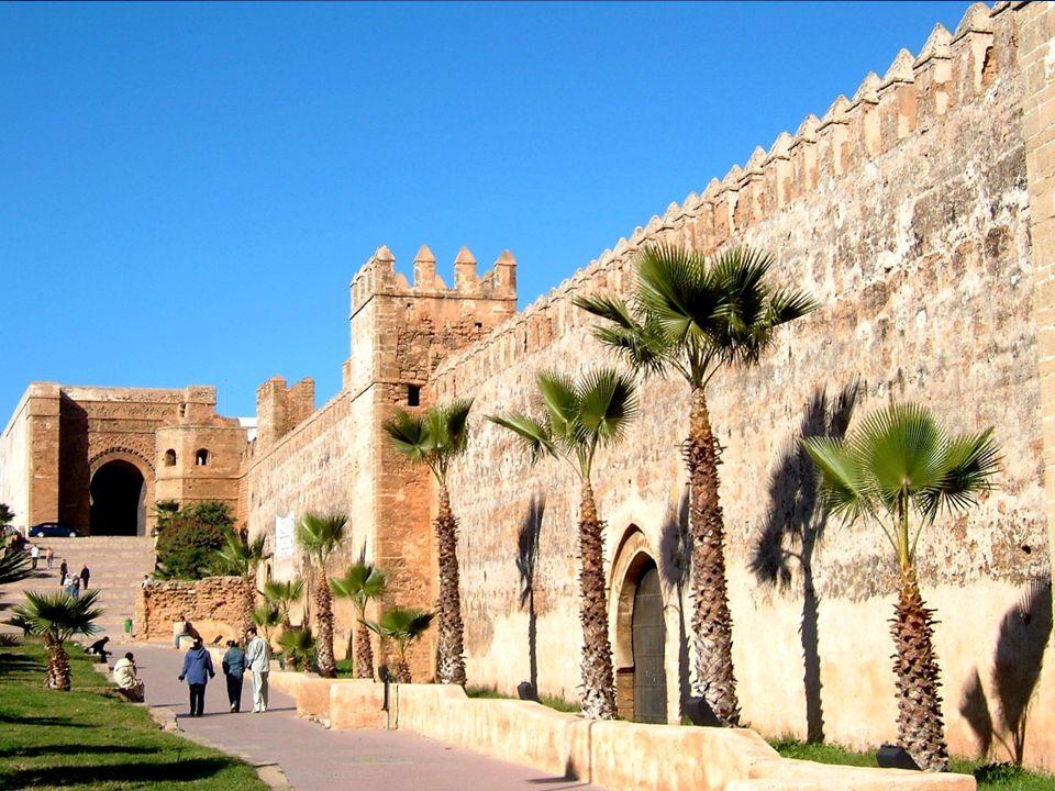 Történelme Rabat erődítménye, fénykorának fantasztikus emlékei.