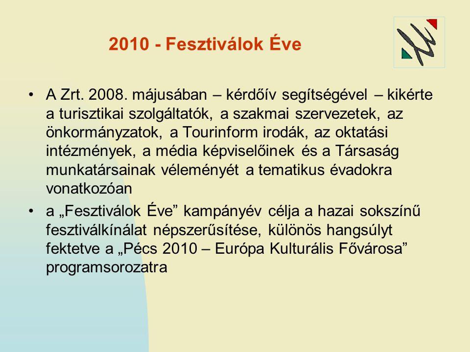 2010 - Fesztiválok Éve A Zrt. 2008.