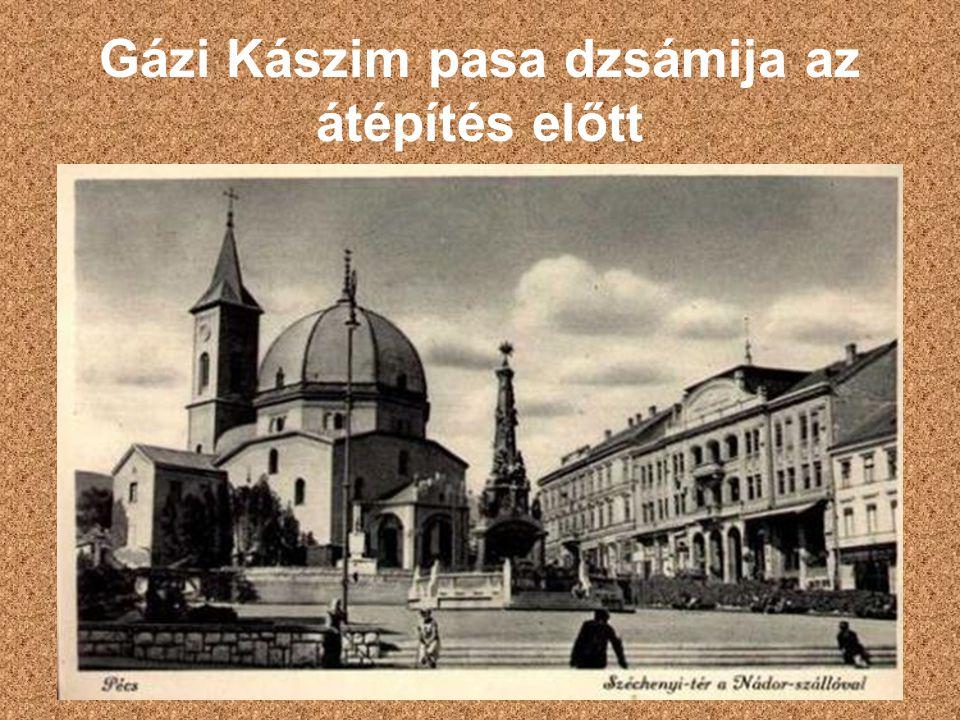 Gázi Kászim pasa dzsámija az átépítés előtt