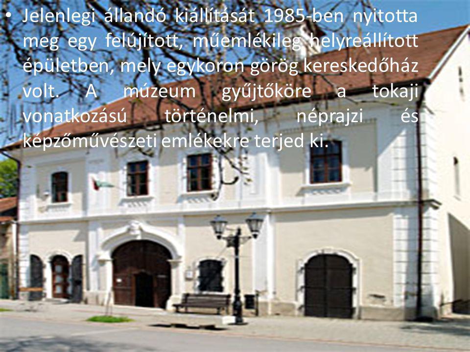 Jelenlegi állandó kiállítását 1985-ben nyitotta meg egy felújított, műemlékileg helyreállított épületben, mely egykoron görög kereskedőház volt. A múz