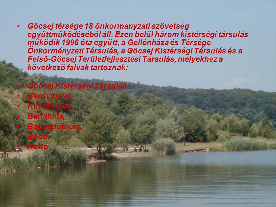 Göcsej térsége 18 önkormányzati szövetség együttműködéséből áll.