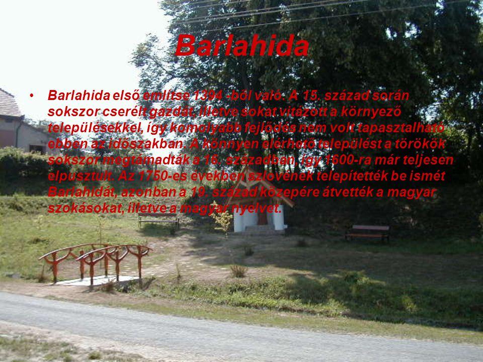 Barlahida Barlahida első említse 1394 -ből való.A 15.