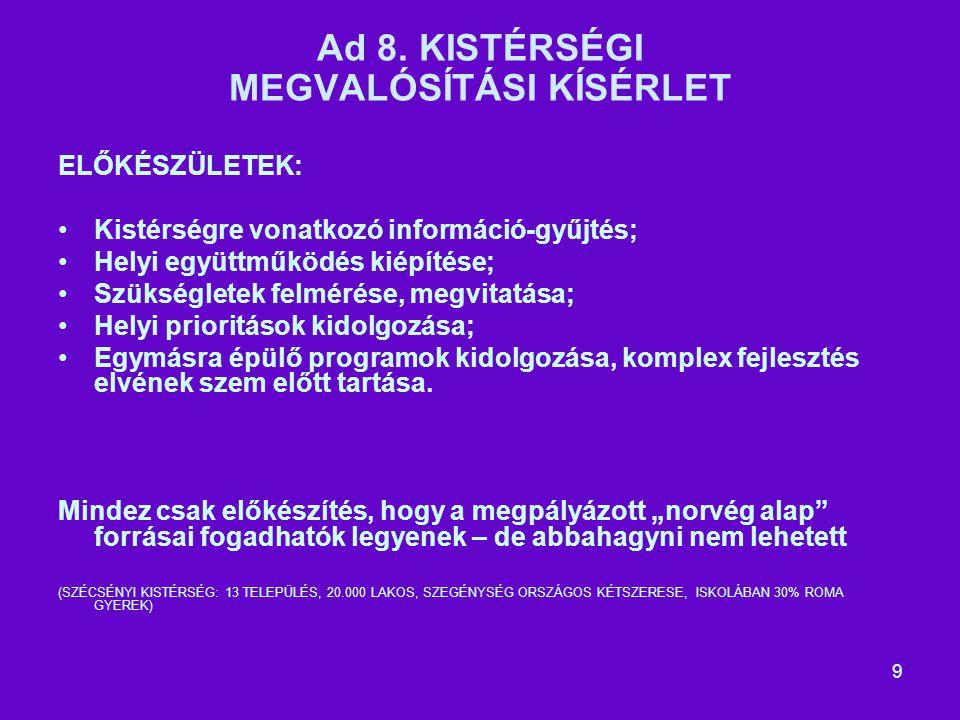 9 Ad 8.