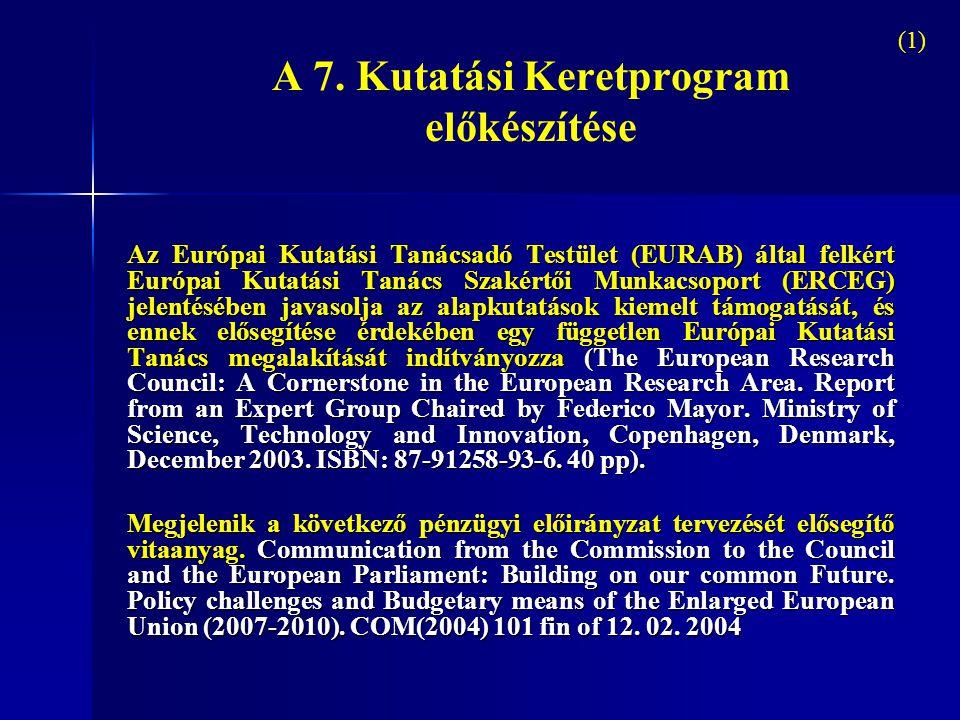 2005-2006: Az Európai Tanács kutatási munkacsoportja számos alkalommal tárgyalja majd az előterjesztést 2005.