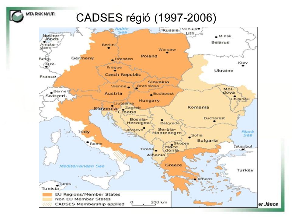 CADSES régió (1997-2006)