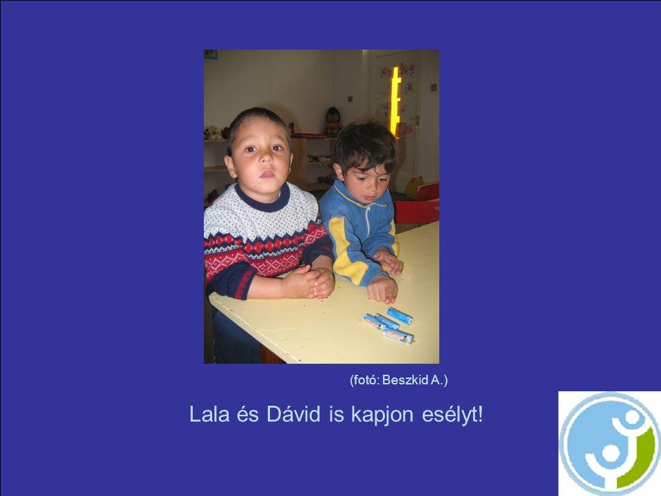(fotó: Beszkid A.) Lala és Dávid is kapjon esélyt!
