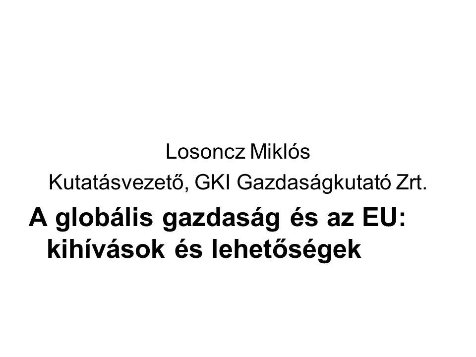 Kihívások Rövid távú kihívások: Globális pénzügyi válság Gazdasági recesszió Hosszabb távú kihívások (post Lisbon – Budapest (?) - strategy): Energia Klíma Európai szomszédsági politika