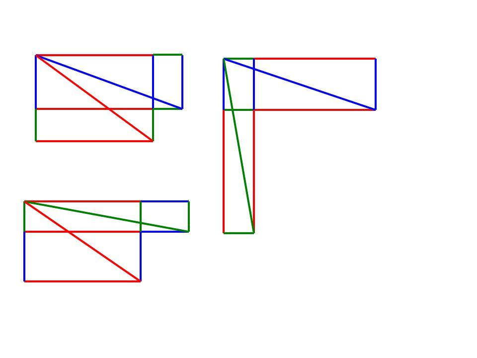 –Legyen egy háromszögben r a beírt kör sugara, R a háromszög köré írt kör sugara és M a háromszög legnagyobb magassága.