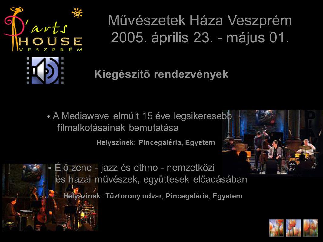 Kiegészítő rendezvények Művészetek Háza Veszprém 2005.