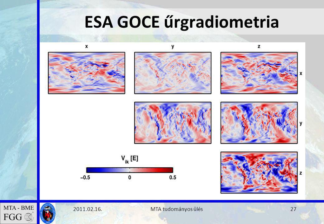 2011.02.16. MTA tudományos ülés27 ESA GOCE űrgradiometria