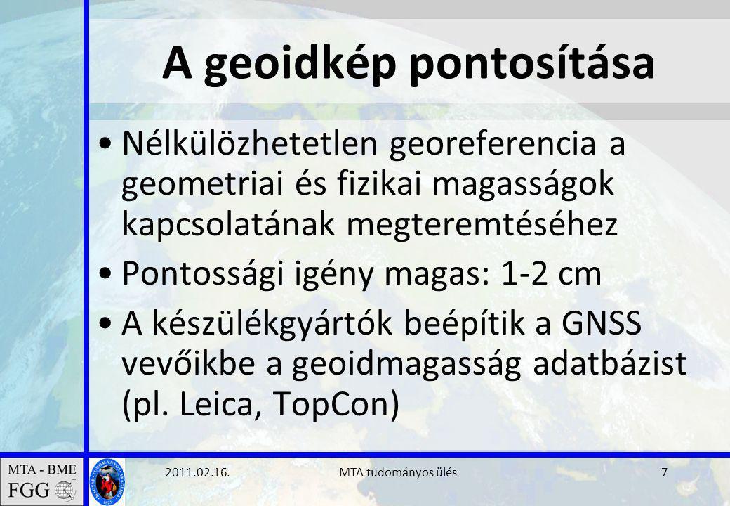 2011.02.16. MTA tudományos ülés28 GOCE geoid (ESA)