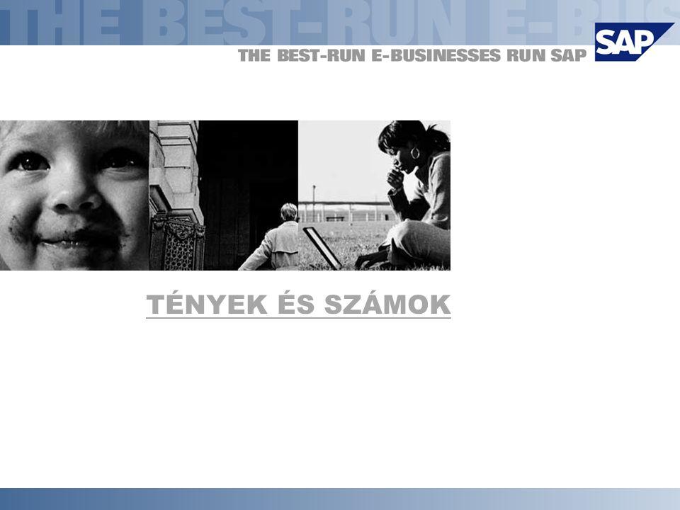  SAP AG 2001, mySAP.com Standard 4 Az SAP napjainkban  Az SAP AG forgalma 2000-ben: 6,26 mrd.