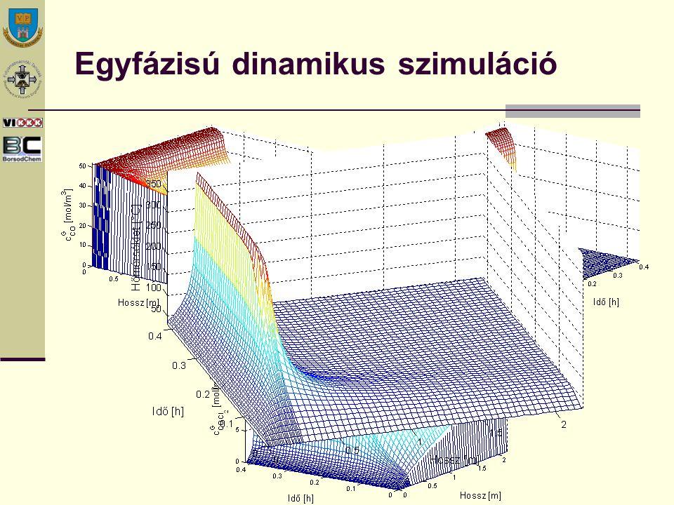 Egyfázisú dinamikus szimuláció
