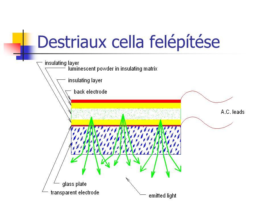 Destriaux cella felépítése
