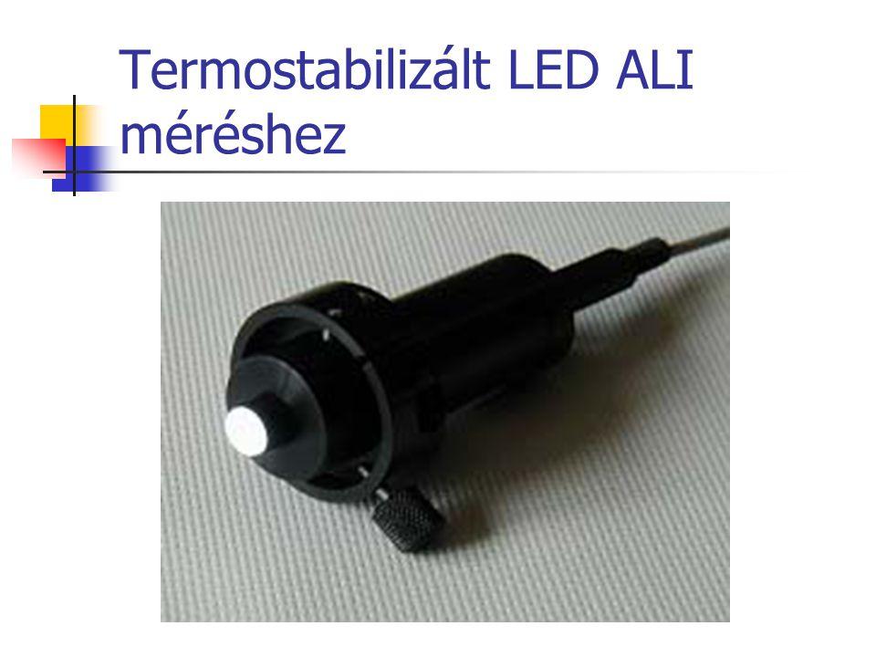 Termostabilizált LED ALI méréshez