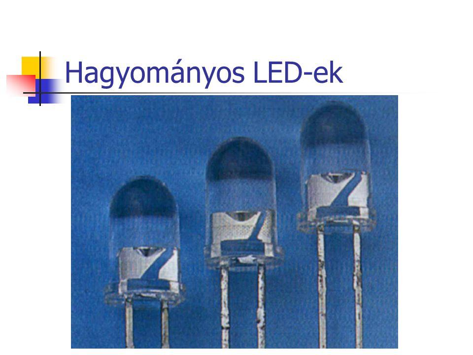 Hagyományos LED-ek