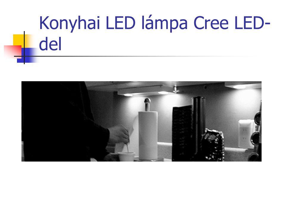 Konyhai LED lámpa Cree LED- del