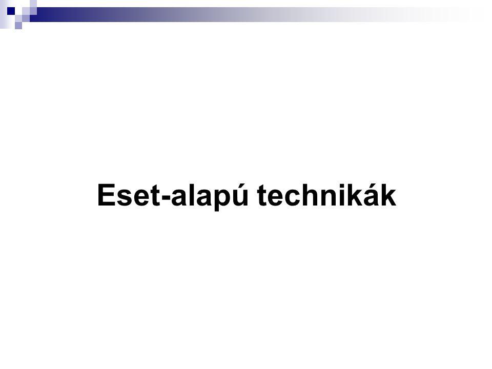 Eset-alapú technikák