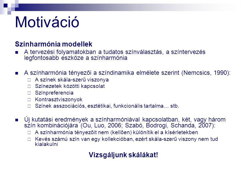 Vizuális értékelés 7.NCS – Coloroid5.