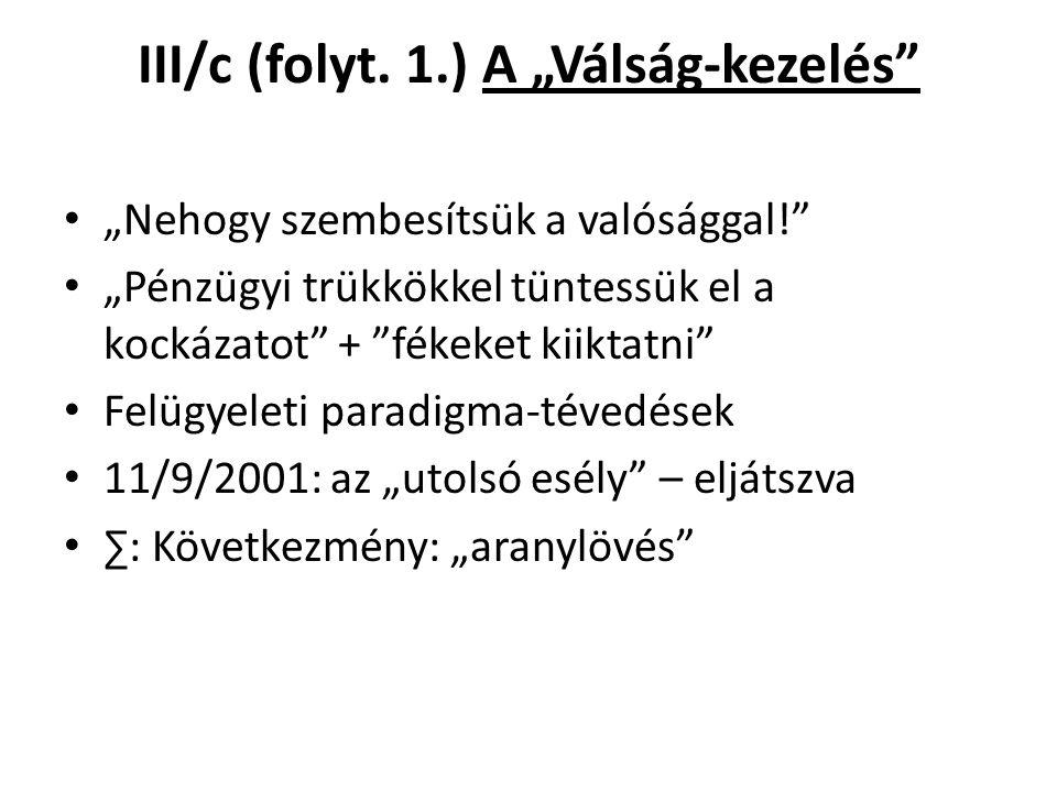 III/c (folyt.