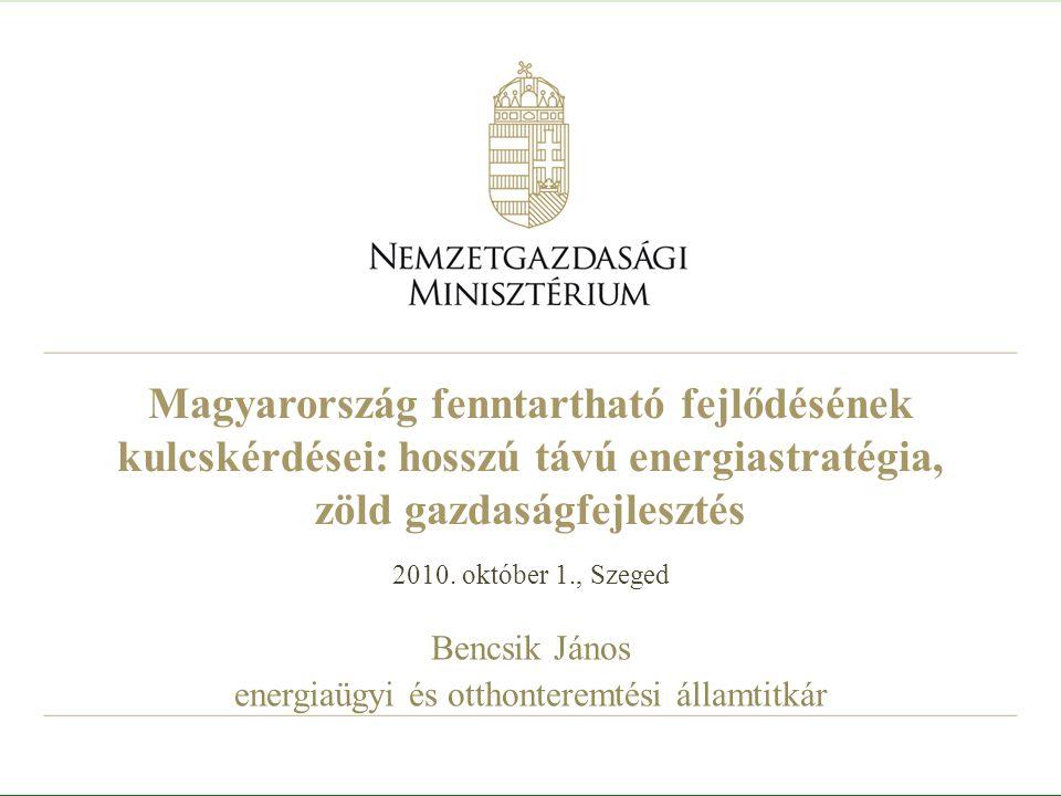 22 Új Széchenyi Terv 7 kitörési pont: Gyógyító Magyarország Megújuló Magyarország – Zöld gazdaságfejlesztés Otthonteremtés Vállalkozásfejlesztés Tudomány - Innováció – növekedés Foglalkoztatás Közlekedés - tranzitgazdaság