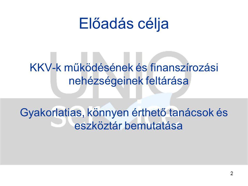 3 Mi is az a KKV.2004. évi XXXIV.