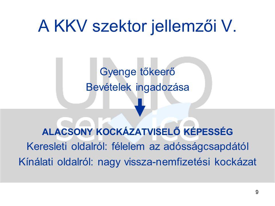 20 Külső finanszírozás Vl.