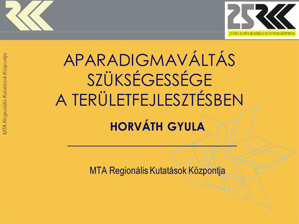 MTA Regionális Kutatások Központja 12 REPÜLŐTEREK RÉGIÓKÖZPONTOKBAN