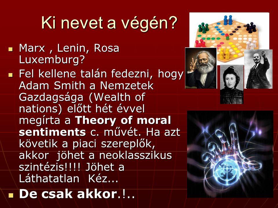 Ki nevet a végén. Marx, Lenin, Rosa Luxemburg. Marx, Lenin, Rosa Luxemburg.