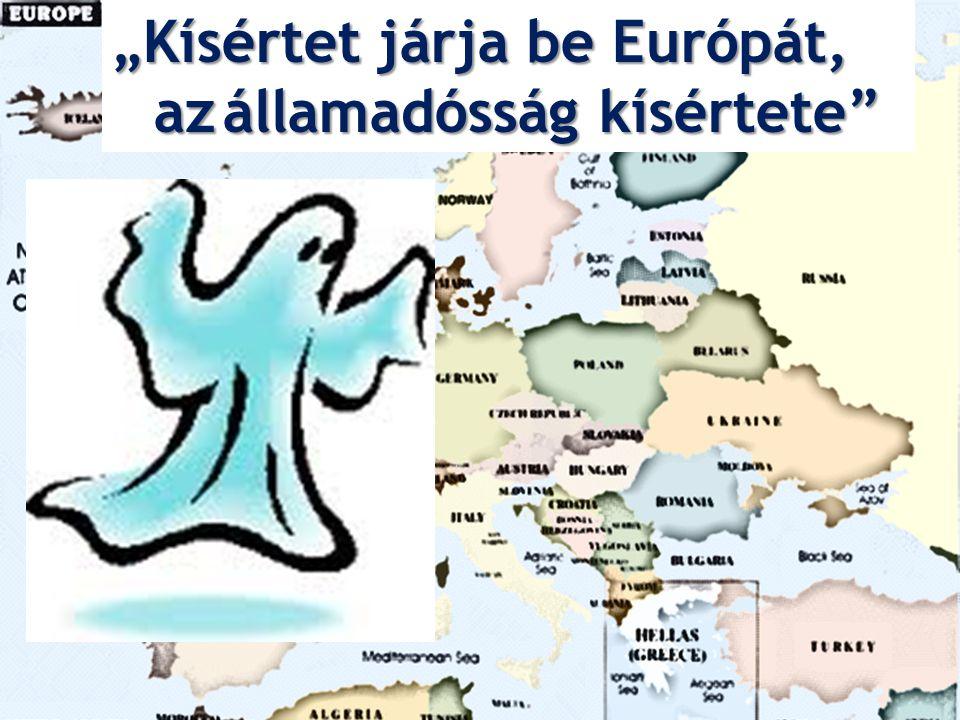 """""""Kísértet járja be Európát, azállamadósság kísértete"""" az államadósság kísértete"""""""