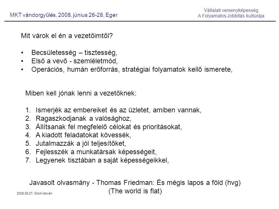 2008.06.27, Gödri István Mit várok el én a vezetőimtől.
