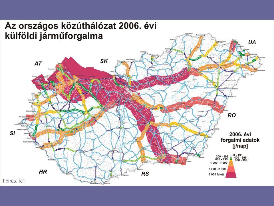 8.4 l/100km 5*5.0 l/100km 15*4.2 l/100km Azonos szállítási teljesítmény ÜHG kibocsátása és üzemanyag-felhasználása a szállítójármű mérete függvényében Forrás: GM Europe