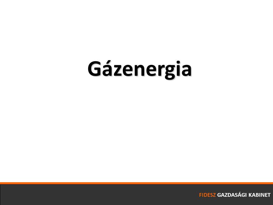 FIDESZ GAZDASÁGI KABINET Gázenergia
