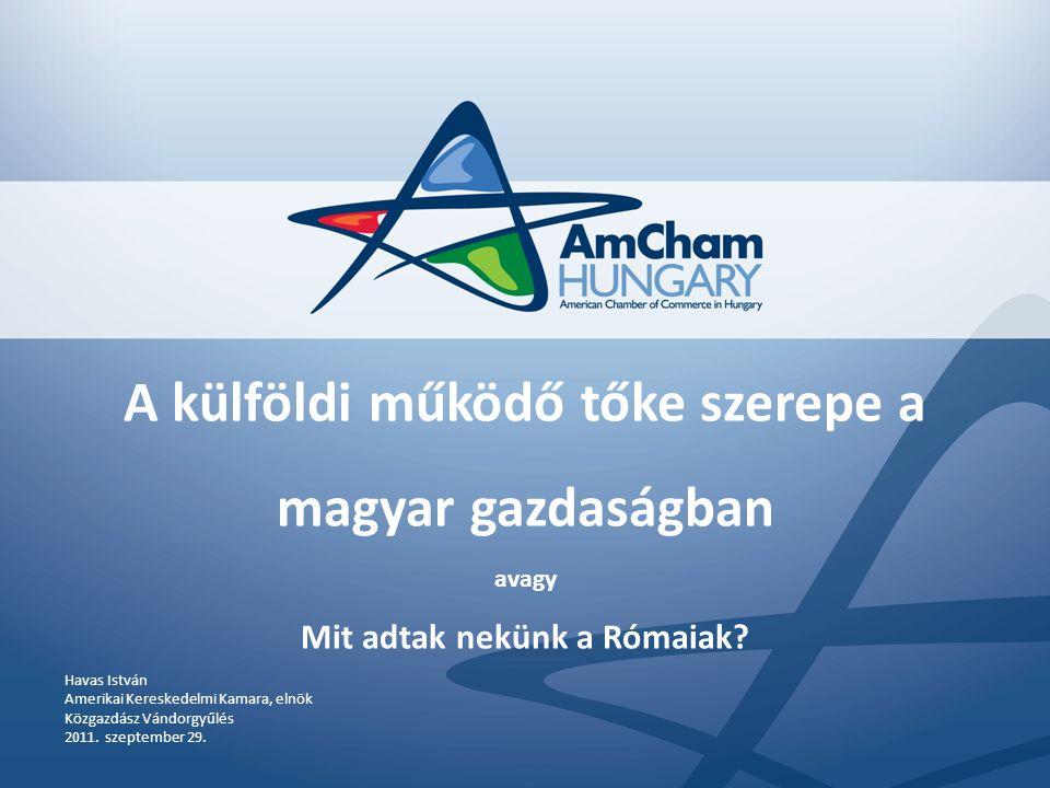 Mi az AmCham.