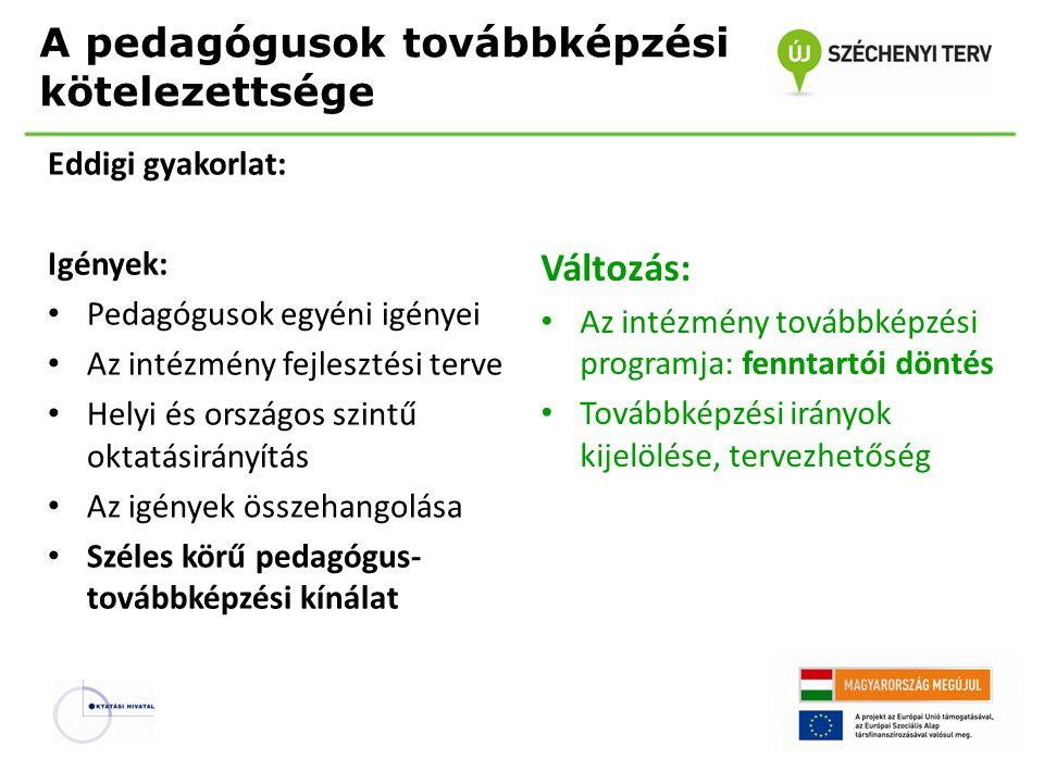 A pedagógusmunka minőségét meghatározó legfontosabb tényezők a pedagóguskompetenciák a képzés a pályára állás a pályán maradás az értékelés és minőségbiztosítás a szakmai fejlődés az intézményvezetés és a pedagógusközösség (Kocsis−Sági 2012)